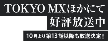 TOKYO MXほかにて好評放送中。